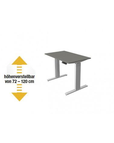Elektromotorischer Steh-Sitztisch Move.3 - Kompakttisch (Gestell silber)
