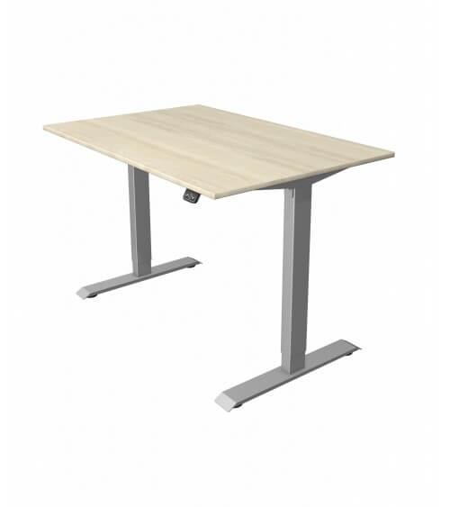 Elektromotorischer Steh-Sitztisch Move.1 (Gestell silber)